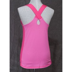 Champion Tops - Pink two-tone Champion athletic top M